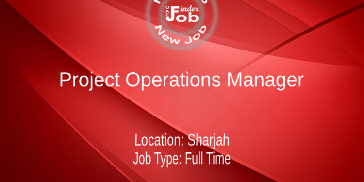 Project Operations Manager