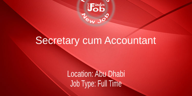 Secretary cum Accountant