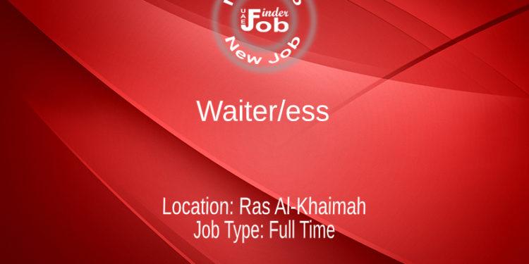 Waiter/ess
