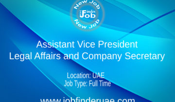 Assistant Vice President - Legal Affairs and Company Secretary