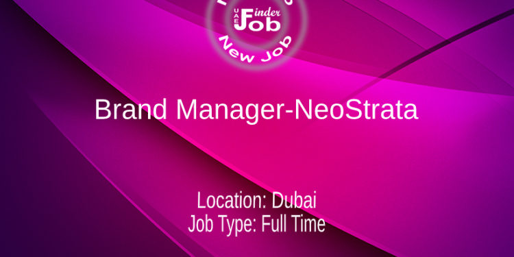 Brand Manager-NeoStrata