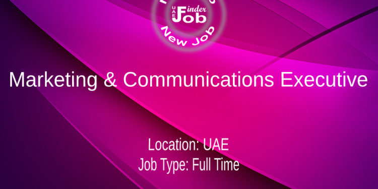 Marketing & Communications Executive
