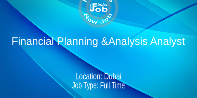 Financial Planning &Analysis Analyst