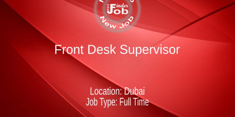 Front Desk Supervisor