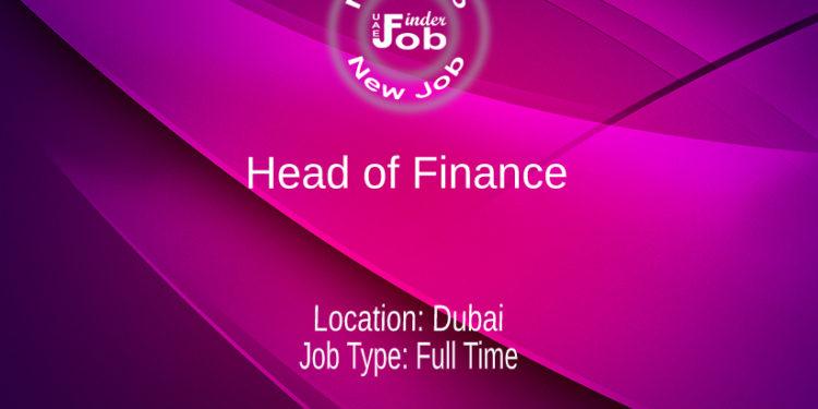 Head of Finance