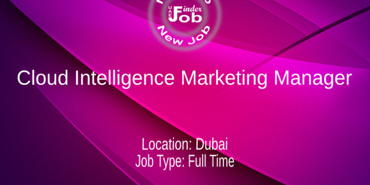 Cloud Intelligence Marketing Manager