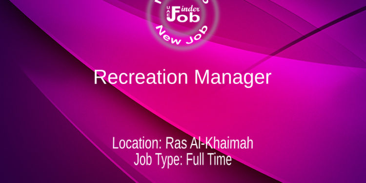 Recreation Manager