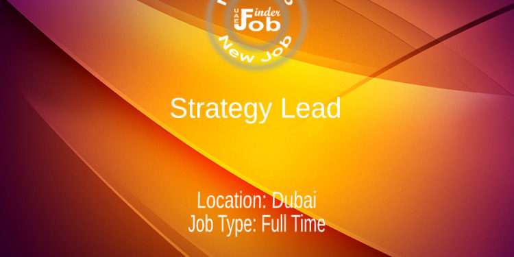 Strategy Lead