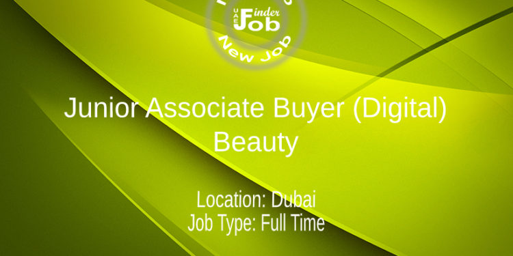 Junior Associate Buyer (Digital) - Beauty