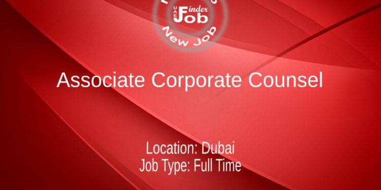 Associate Corporate Counsel