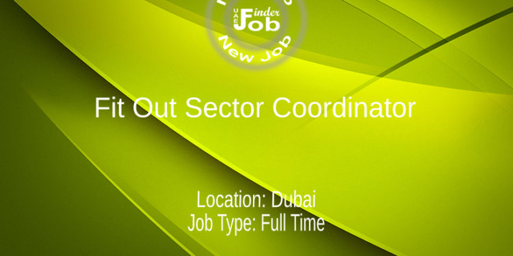 Fit Out Sector Coordinator