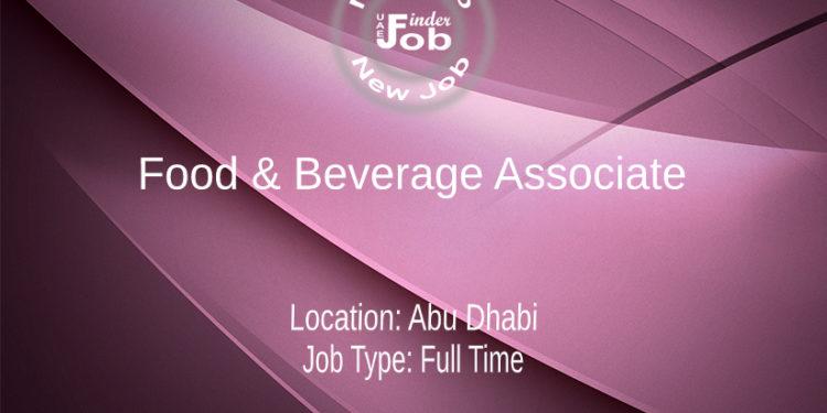 Food & Beverage Associate