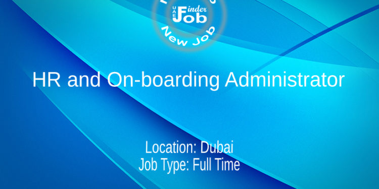 HR and On-boarding Administrator