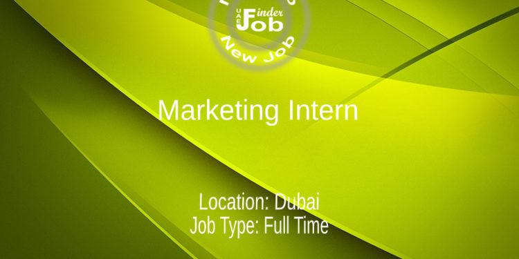 Marketing Intern - 6 months contract