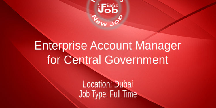 Enterprise Account Manager for Central Government