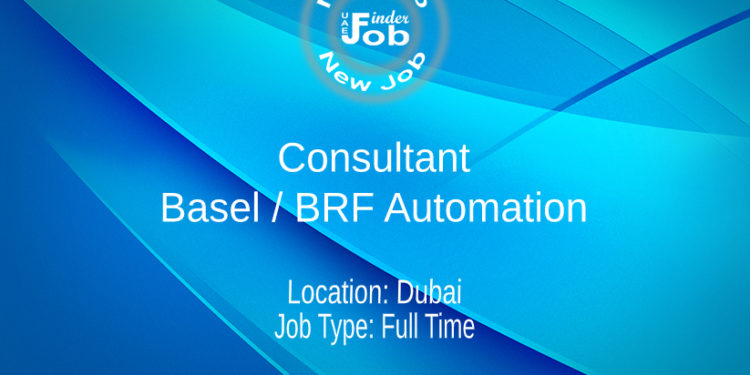 Consultant - Basel / BRF Automation