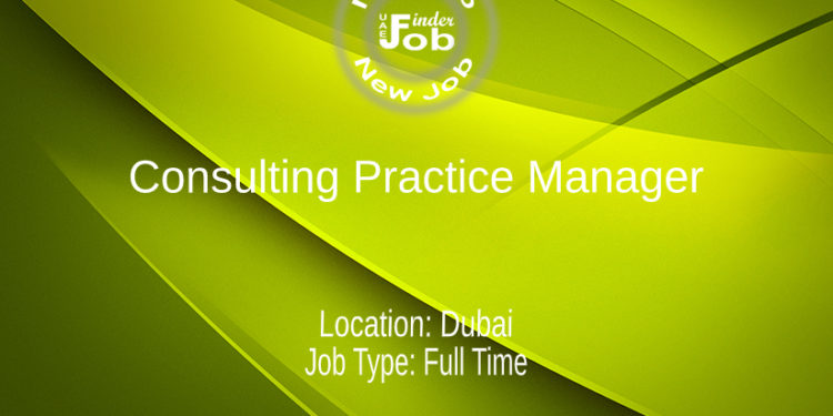 Consulting Practice Manager