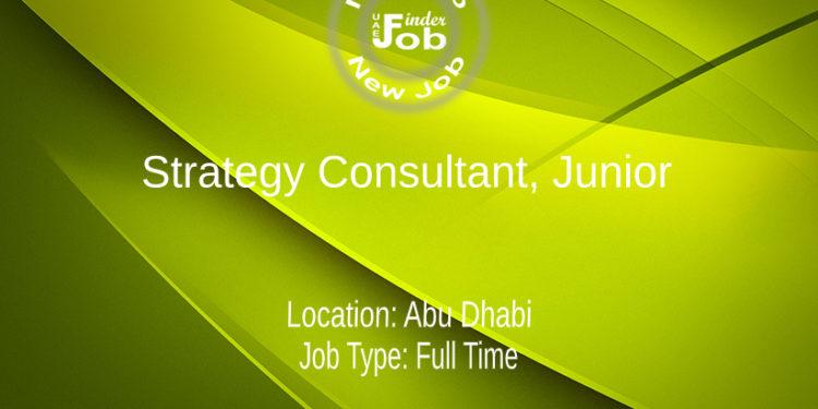 Strategy Consultant, Junior