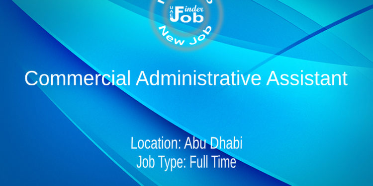 Commercial Administrative Assistant