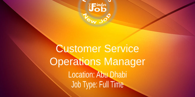 Customer Service Operations Manager