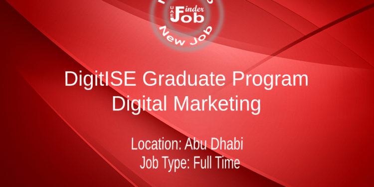 DigitISE Graduate Program - Digital Marketing