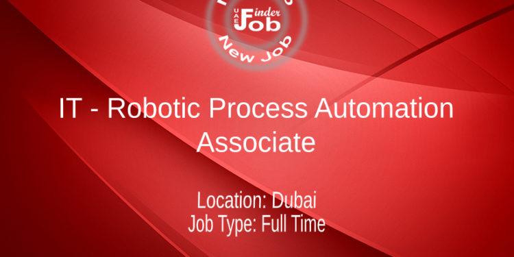 IT - Robotic Process Automation - Associate