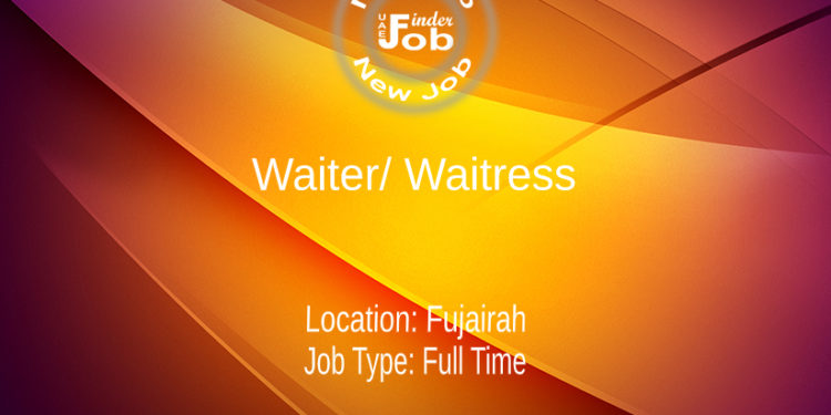 Waiter/ Waitress