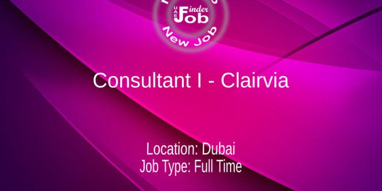 Consultant I - Clairvia