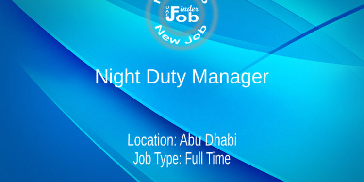 Night Duty Manager