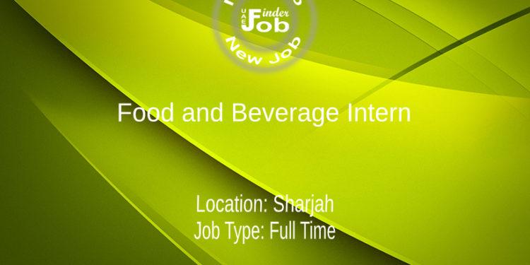 Food and Beverage Intern