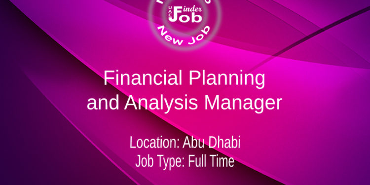 Financial Planning and Analysis Manager