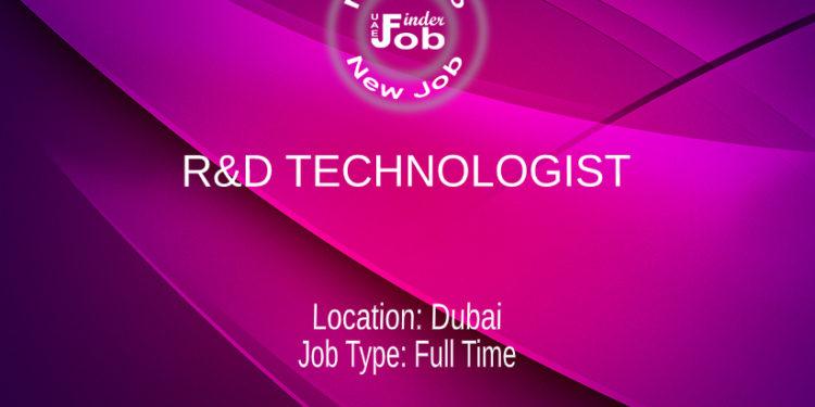 R&D TECHNOLOGIST